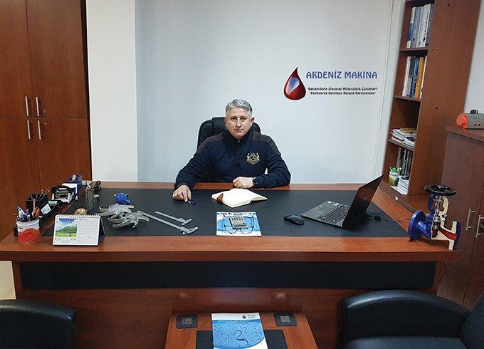 """Akdeniz Makina ve Gıda San. Tic. Ltd. Şti.'nin Satış ve Pazarlama Direktörü Nuri CEYLAN: """"AKDENİZ MAKİNA BÜYÜMEYE DEVAM EDİYOR"""""""