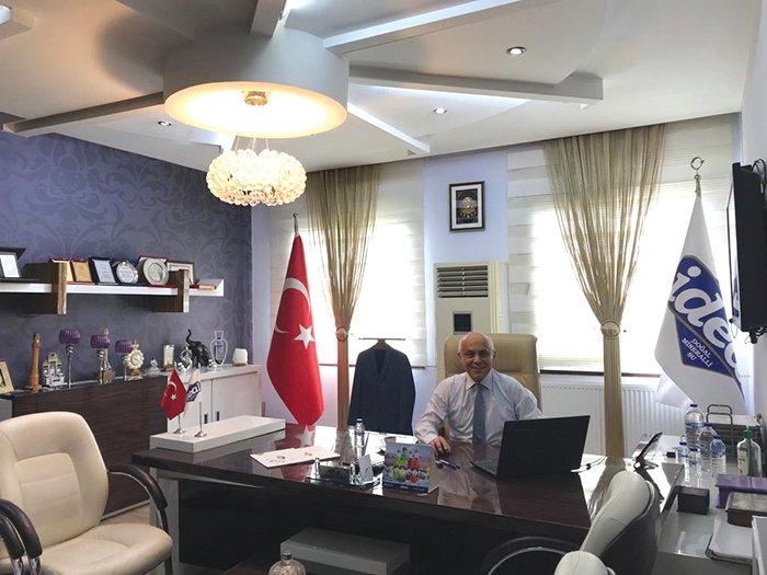 """İdeal Memba Suları A.Ş. Genel Müdürü Salim Demir: """"ARKANIZDA MUTLAKA İMZANIZI TAŞIYAN BİR YENİLİK BIRAKIN"""""""