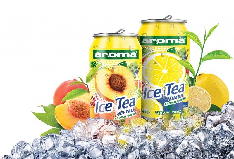 Aroma'dan buz gibi yeni lezzet: Aroma Ice Tea