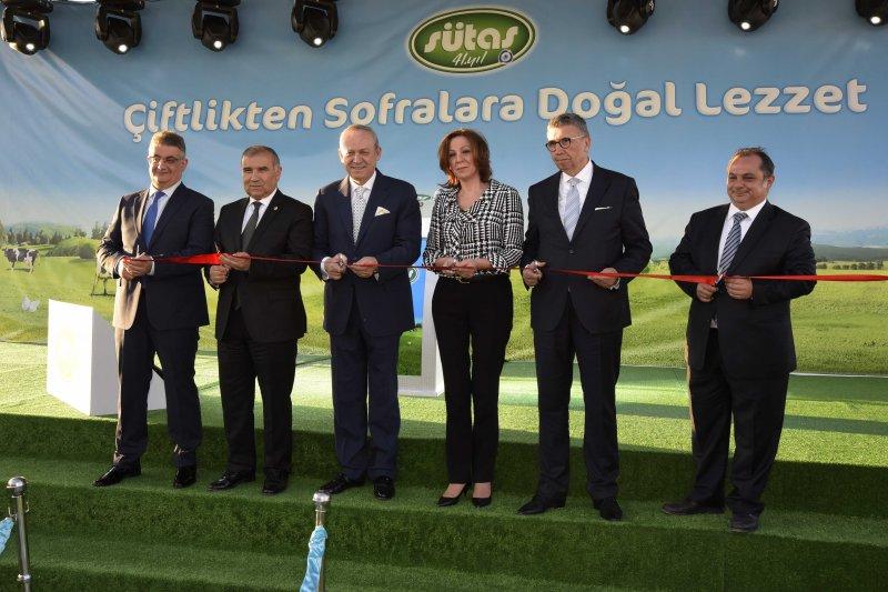 Sütaş Aksaray Doğal Enerji Tesisleri Açıldı...
