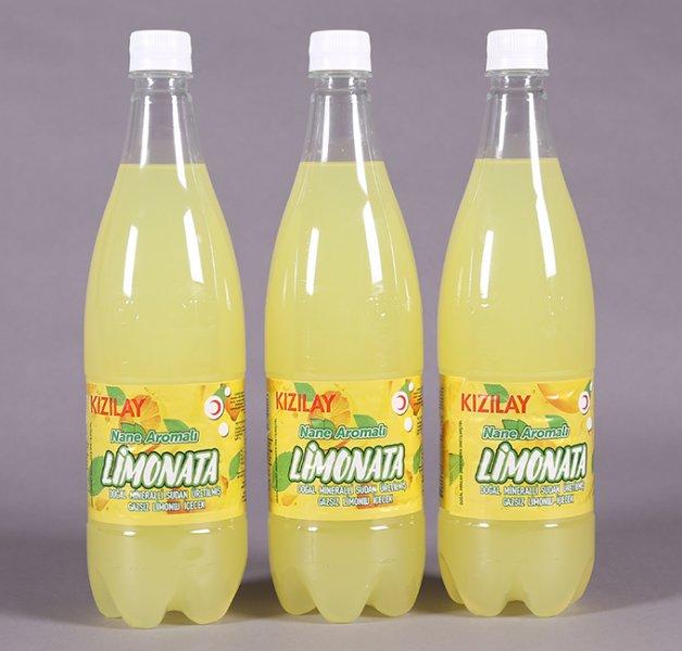 Kızılay'dan İçinde Mineralli Su Olan Limonata...