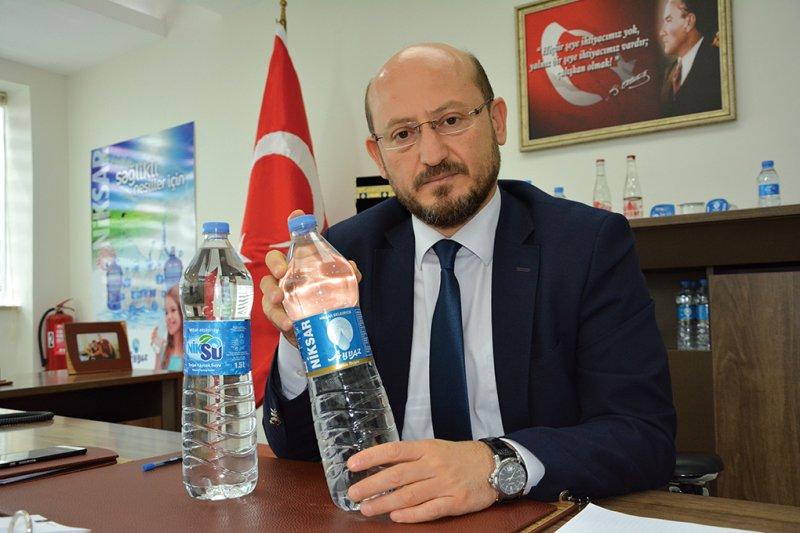 """Niksar Belediye Başkanı Özdilek ÖZCAN: """"Dünyanın en kaliteli suyuna sahibiz"""""""