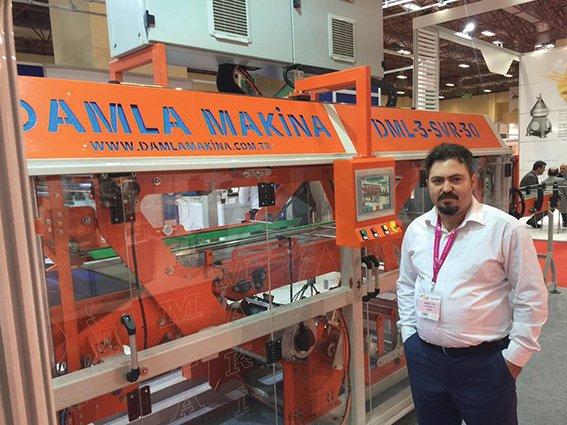 """Damla Makina Servis Sanayi ve Ticaret Ltd. Şti. Genel Müdürü Mehmet CÜRE: """"Damla Makina, kaliteyi paketliyor"""""""