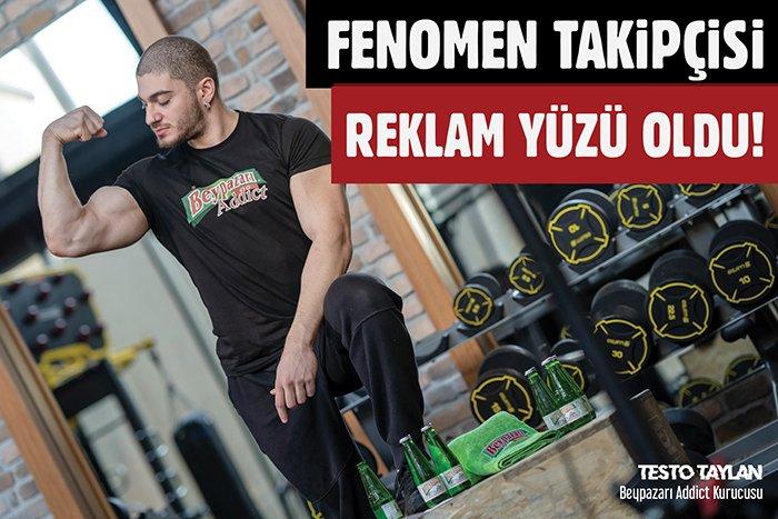"""Beypazarı Doğal Maden Suyu'ndan yeni reklam kampanyası: """"BEYPAZARI İÇEN, DEMİR BÜKER!"""""""